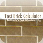Fast Brick Calcuator email