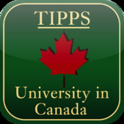 University in Canada map canada physical