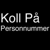 Koll på personnummer killprocess
