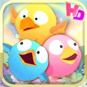 Talking Trio: Birds HD mad birds pursuit