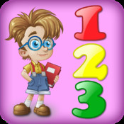 Learning numbers - 3 in 1 games for kids with numbers and math (for iPad) point numbers