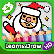 Kids Drawing: Christmas - Free Holiday Coloring and Drawing for Kids with Santa Claus and his Elves in HD!