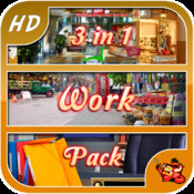 Work Pack - 3 in 1 - Hidden Object Game