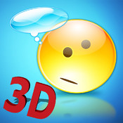 3D Emoji and Emoticon - Free Smiley Icons for WhatsApp, Twitter, Facebook and other messengers. emoticon facebook translator