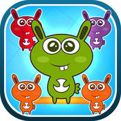 A Funny Bunny World Match - Cool Easter Game Connecting Puzzle