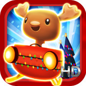 Snow Surfer HD: Christmas Cart Racer