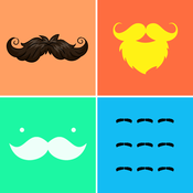 Mustache Wallpapers & Backgrounds HD - Home Screen Maker with Cool Beard Icon Themes icon pop