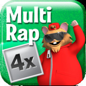 Multiplication rap 4x app for ipad iphone education for 11 times table rap