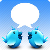 Chat for twitter+Push