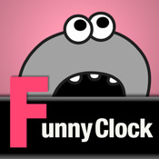 Funny Character Clock