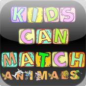 Kids Can Match - Animals