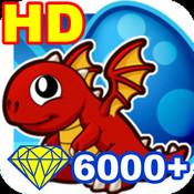 DragonVale 6000 Coins HD