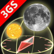 3D Sun&Moon Compass 3GS