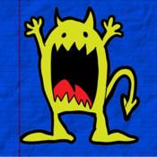 Doodle Monster Planet