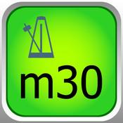 musebook metronome m30 timing