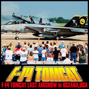 Movie of AIR SHOW vol.3 F-14 TOMCAT LAST AIRSHOW in OCEANA,USA movie maker 3 0