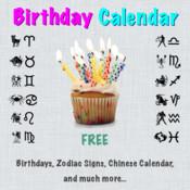 Birthday Calendar (FREE)