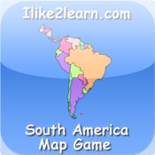 Map Of South America Quiz Game