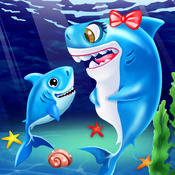 New Ocean Baby Born - Shark under the sea: Kids Free Game