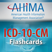 AHIMA's ICD-10-CM Flash Cards no coding