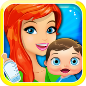 New-Born Baby Doctor - My fun girl`y clinic care & pregnancy kid`s game for free