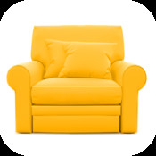Living Room 3D Interior Deco for Ikea - Gold