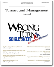 Turnaround Management Journal practice management journal