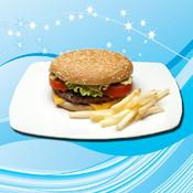 Fast Burger sky burger