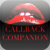 Callback Companion magenta rocky horror