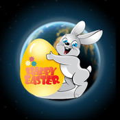 3D Easter Bunny Tracker
