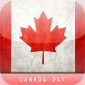 Canada Day - iPad version map canada physical