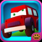 Kids Line Game Vehicles