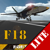 F18 Carrier Landing Lite cat carrier