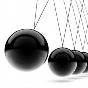 Newton`s Cradle: Physics++