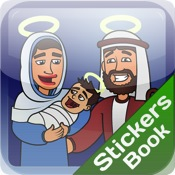 Nativity Stickers Book sticker