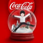 Coca-Cola Snow Globes for iPad