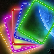 Glow Backgrounds IN ONE