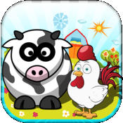 Farm Animals: Ranch Match - My Cowboy Day Story Game (For The iPhone, iPad, iPod)