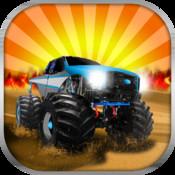 Monster Truck Parking Game - Free Trucks Games