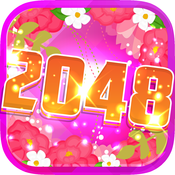"2048 Flower In The Garden : "" Paradise of Beautiful Flora Blossoms Edition """