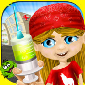 Cooties Doctor : Dentist , Bath , Dress Up Store , Hair Cut Salon, Nail Clean & Care, Chalk Draw , Puzzle & Memory Match All In One