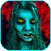 Walking Zombie Face Free - New Death Mask Booth walking dead dead yourself