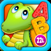 Alphabet Aquarium School Vol 1: Animated Letters Puzzle for Preschool and Kindergarten Explorers by 22learn