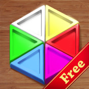 Hexagonal Mosaic Free - puzzle for kids