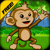 Baby Monkey Run - Fun Race Against Spider Snakes