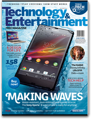 Tesco Technology & Entertainment magazine latest gadgets reviews