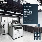RICOH MP W8140/W7100 mp3 rocket player