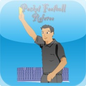 Pocket Football Referee kick in the balls