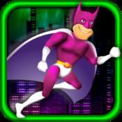Fast Running Super Hero
