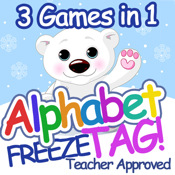Alphabet Freeze Tag: 3 in 1